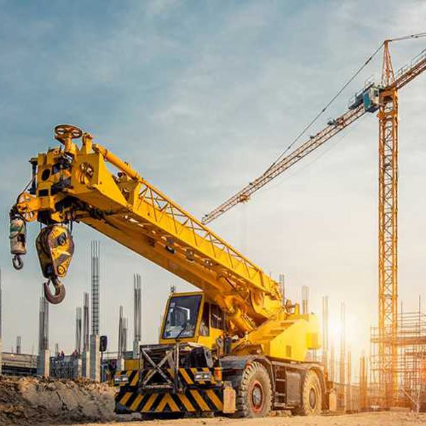 working with cranes